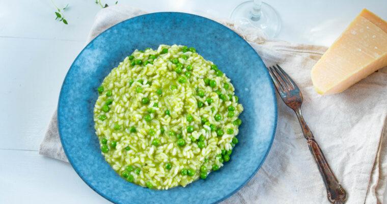 Ærterisotto – lækker og nem opskrift på risotto