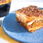 Lækker græsk moussaka med aubergine og kartofler