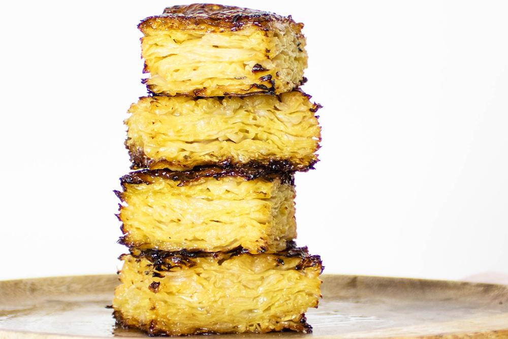 Kål Anna – Pommes anna lavet med kål og smør