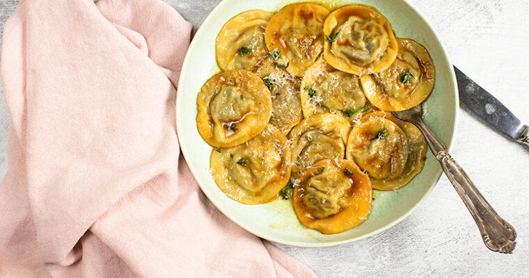 Svampe ravioli – Opskrift på hjemmelavede ravioli med lækkert svampefyld
