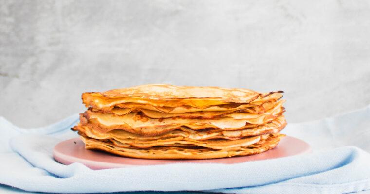 Pandekager – opskrift på gode gamle klassiske pandekager