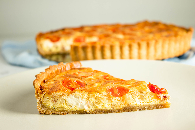 Lækker og nem tærte med masser af smag