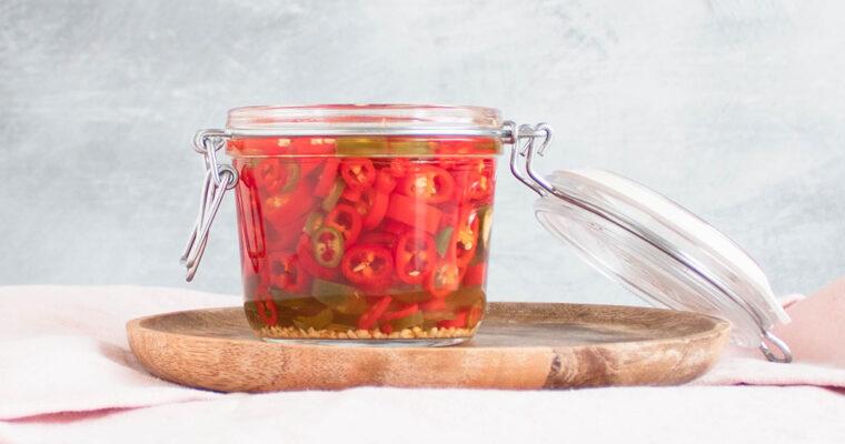 Syltede chili – Et fantastisk tilbehør til det meste!
