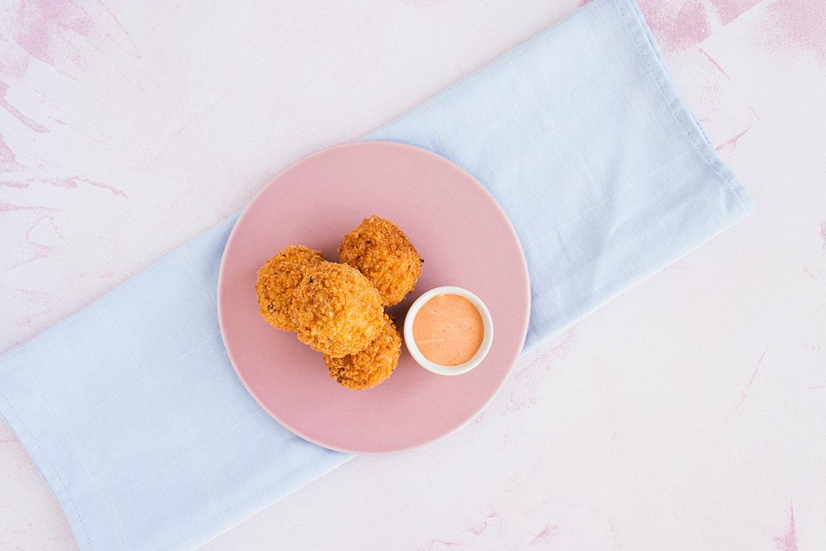 Arancini - skønne og lækre risottokugler - en skøn snack