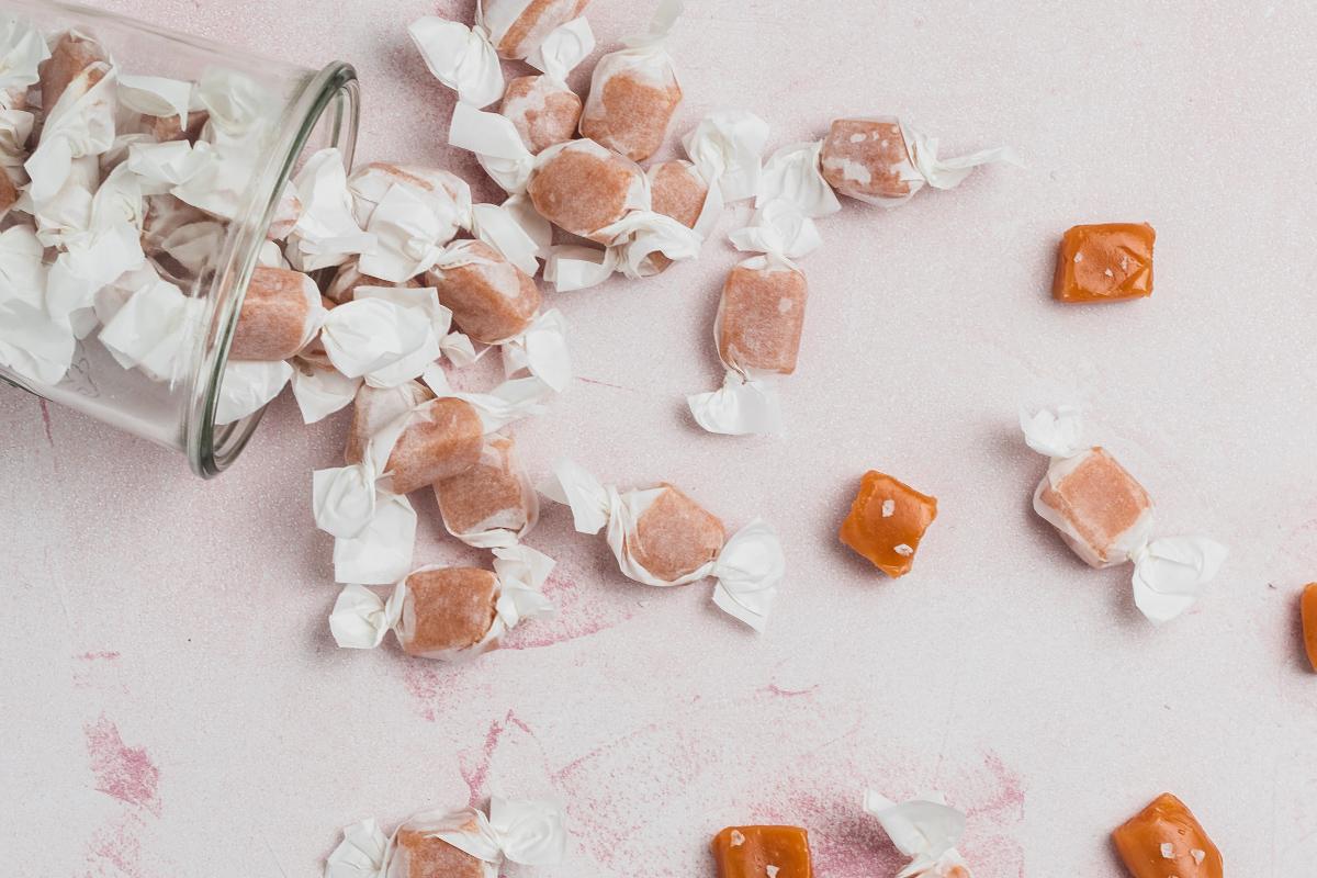 Flødekarameller med flagesalt – bløde karameller med et strejf af salt