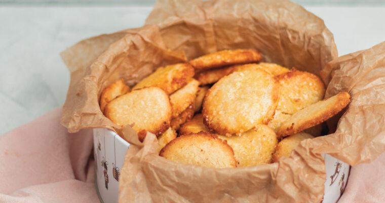 Mandelsmåkager – Opskrift på lækre jule småkager med mandler og smør