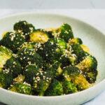 broccoli tilberedt med ingefær og hvidløg