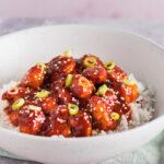spicy koreansk inspireret gochujang kylling