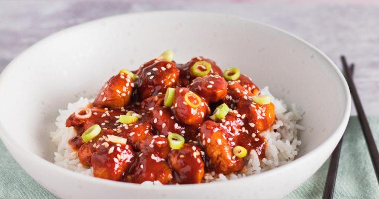 Gochujang kylling – Koreansk inspireret spicy kylling